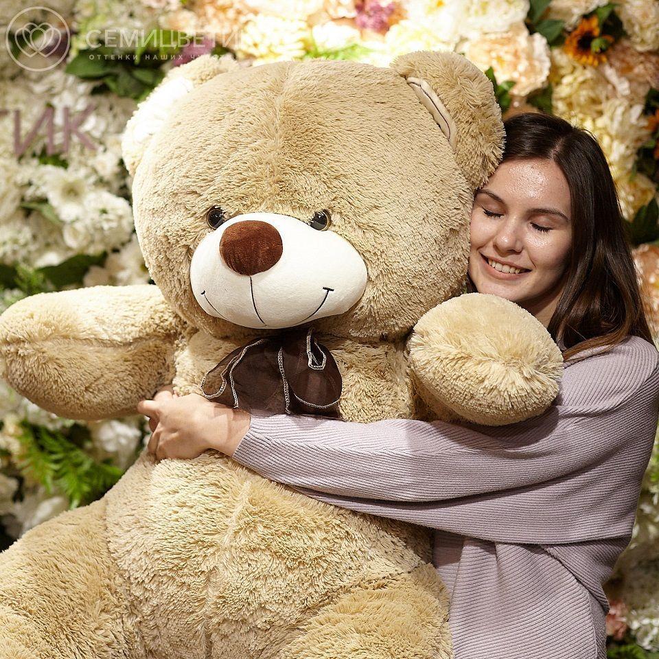 Медведь Орион 150 см молочный шоколад фото