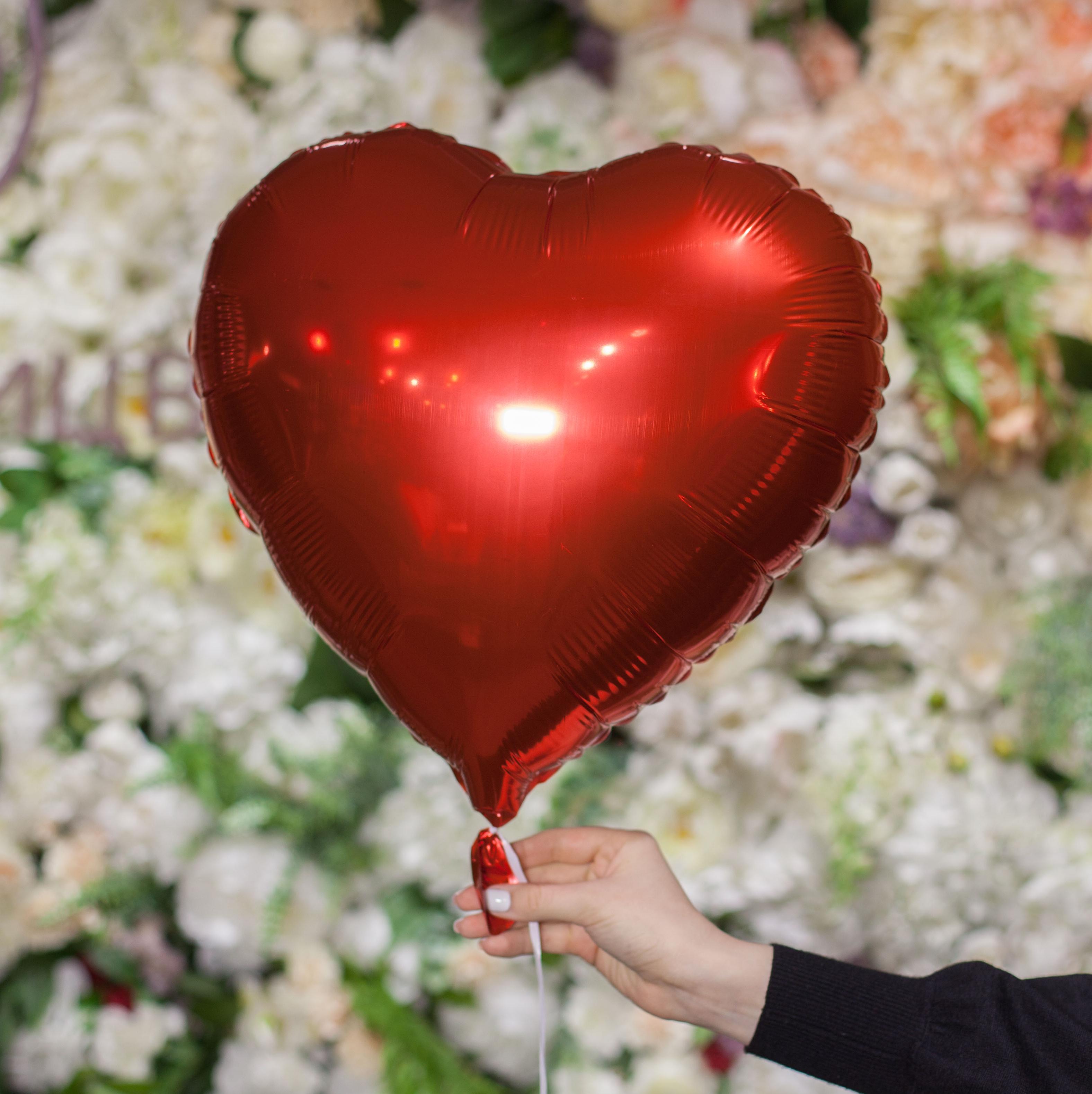 Воздушный шар-сердце 18 дюймов фото