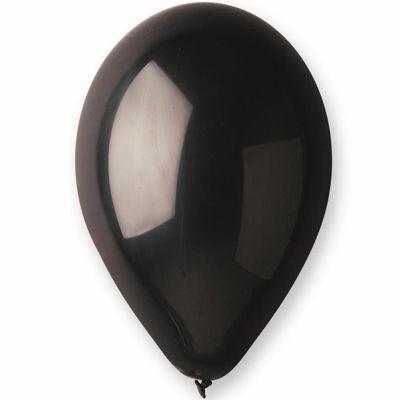 Шар пастель черный фото