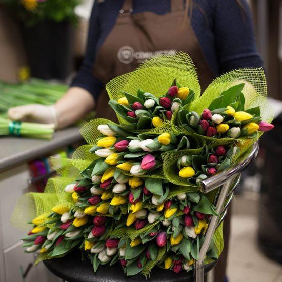 Какие цветы сочетаются в букете?