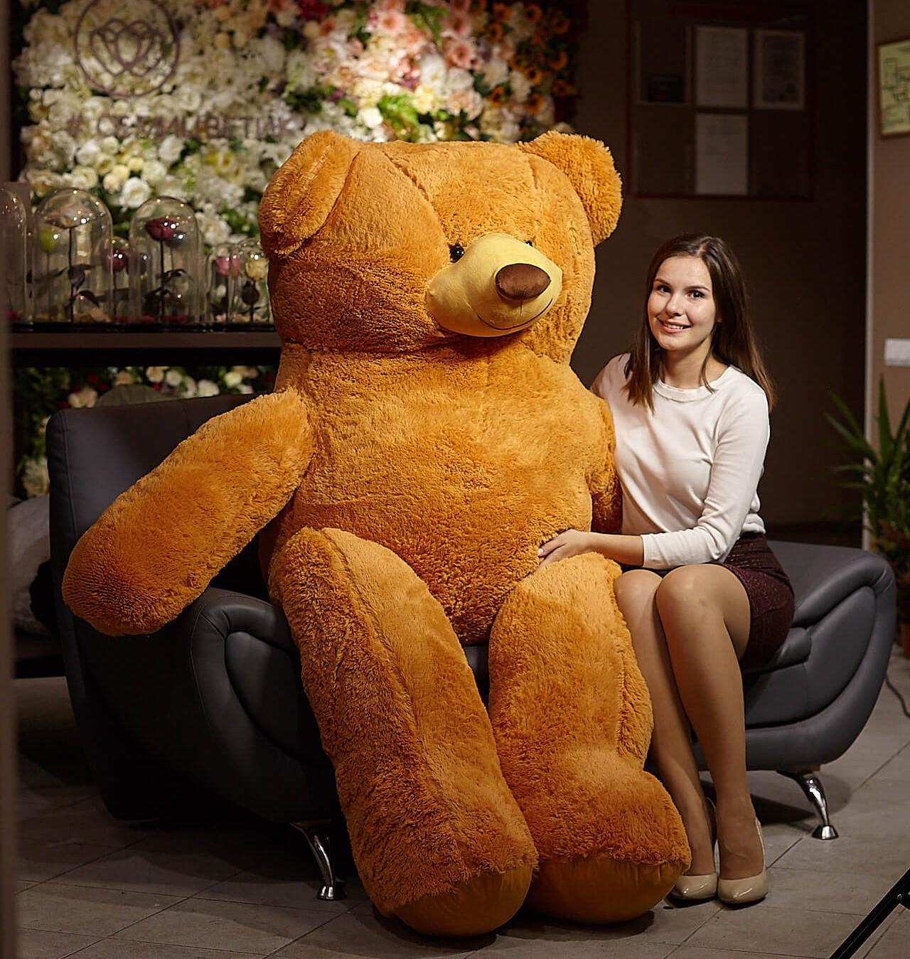 Медведь Балу Коричневый 210 см фото