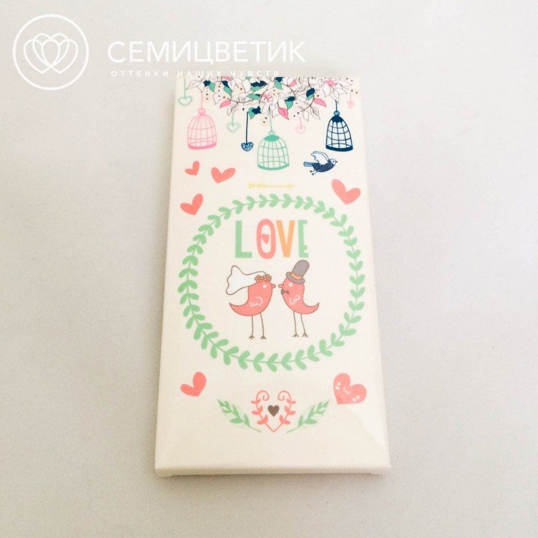 ШокоБар Шоколад Love 100 гр. фото